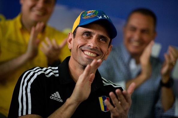Henrique Capriles, opositor venezolano (Foto: FEDERICO PARRA/AFP/Getty Images)