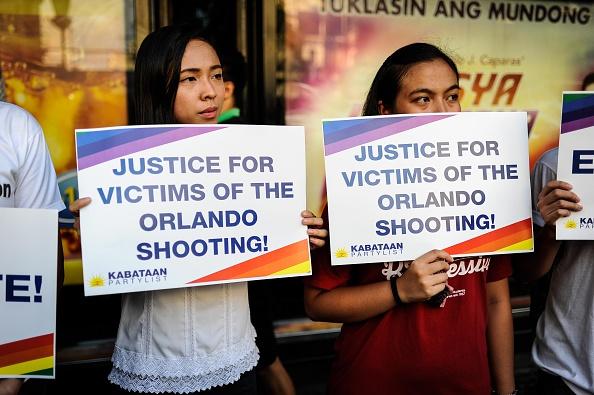 Vigilia por los muertos en la masacre de Orlando. Foto: Dondi Tawatao (Getty Images)