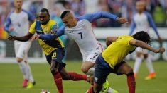 Copa América: Estados Unidos venció 2-1 a Ecuador y clasificó a semifinales