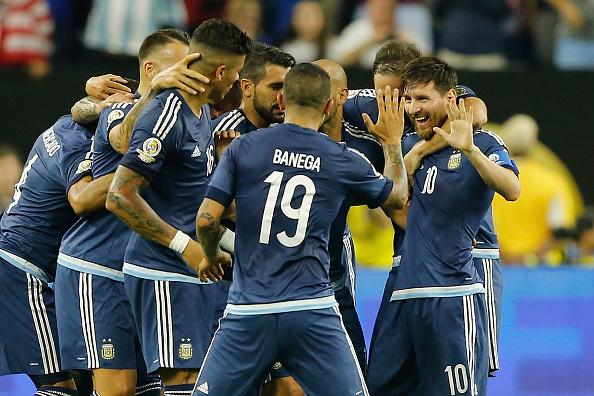 Argentina buscará hoy alzar la Copa América 2016 cuando enfrente a Chile en Nueva Jersey, Estados Unidos. (Bob Levey/Getty Images)