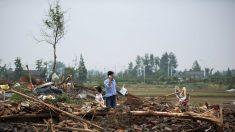 China: Fuerte tornado deja más de 98 muertos y 800 heridos