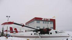 Arriesgada misión de emergencia al Polo Sur para salvar a un trabajador