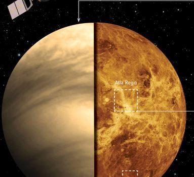 Venus Lava ESA