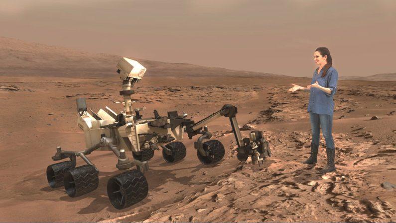 (Crédito: NASA/JPL –Caltech/Microsoft)
