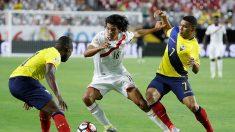 Copa América: Perú y Ecuador empatan en intenso partido