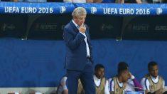 Roy Hodgson renunció como técnico de la selección de Inglaterra