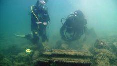 Vestigios de antigua ciudad griega sumergida serían en realidad formaciones geológicas