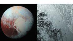 Resuelven el enigma de los polígonos que cubren la superficie de Plutón