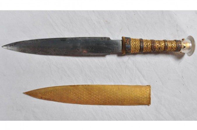 ¿Por qué Tutankamón tuvo una daga fabricada con meteorito?