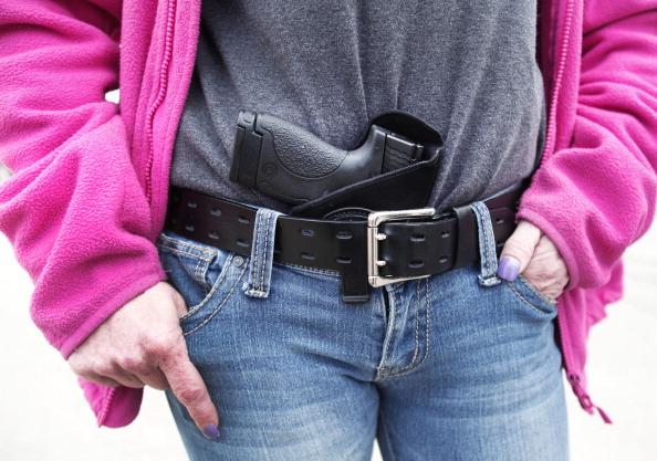 Este lunes entró en vigencia en el estado estadounidense de Texas una nueva ley que permite portar armas dentro de las universidades (Foto: Bill Pugliano //Getty Images)