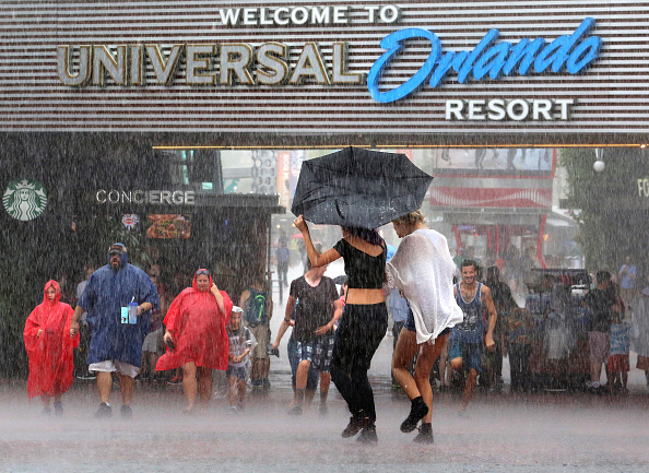 Tormenta tropical Colin llegando a Orlando, Florida. Foto: Orlando Sentinel // Getty Images