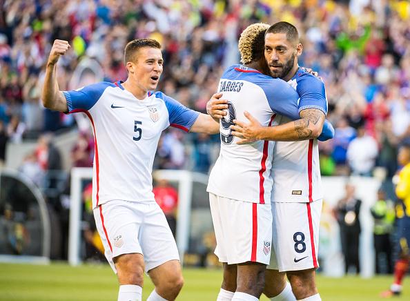 Partido contra Ecuador que le dio el pase a Estados Unidos a la semifinal de la Copa América 2016. Foto: Shaun Clark/Getty Images