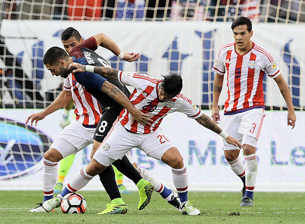 Partido EE.UU vs Paraguay - Copa América. Foto: Elsa, Getty Images