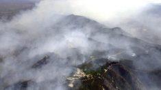 Arizona: incendio forestal en Yarnell, donde en 2013 fallecieron 19 bomberos