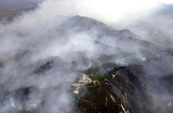 Incendio Forestal en Arizona. Foto: Norma Jean Gargasz//Getty Images