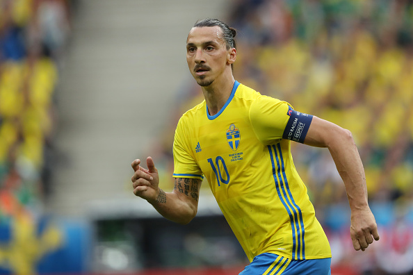Zlatan Ibrahimovic- Eurocopa 2016. Foto: Mathew Ashton//Getty Images