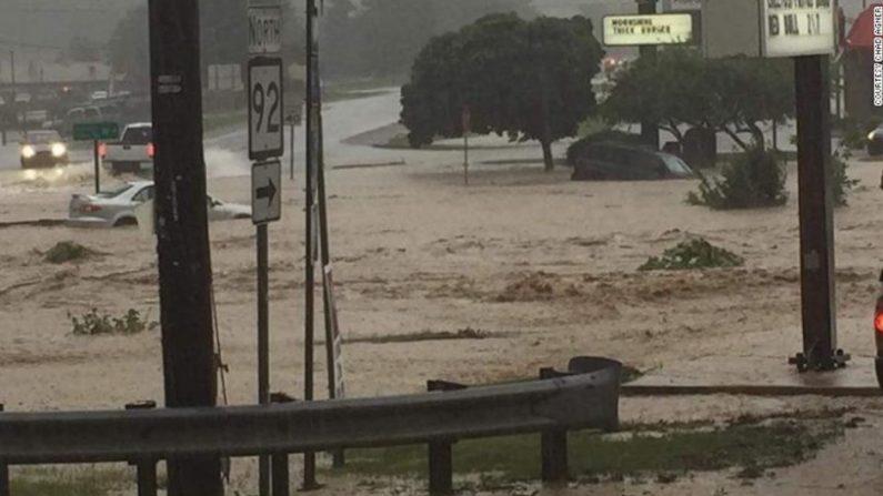 """West Virginia: Las inundaciones son el desastre natural más común en esa zona pero probablemente estas son las """"peores que se han presentado en 100 años"""", según los testigos, 24 de junio de 2016."""