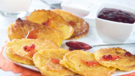 Exquisitas tortitas dulces de calabaza, saludables para adultos y niños