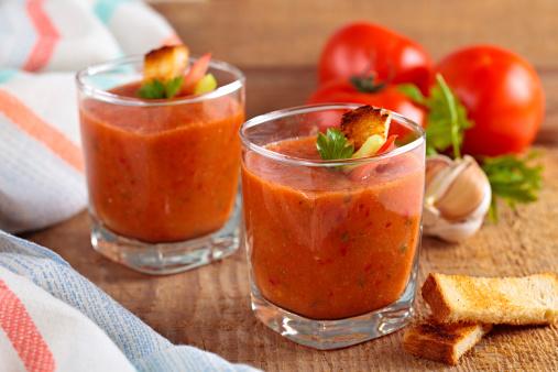 Propiedades y beneficios del gazpacho para la salud. (Foto Vitalina Rybakova / Getty Images)
