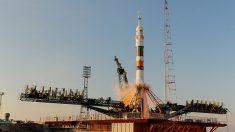 Tres nuevos tripulantes para Estación Espacial a bordo de la nave espacial Soyuz