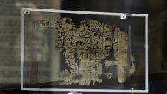 Egipto: Exponen el papiro más antiguo encontrado hasta ahora