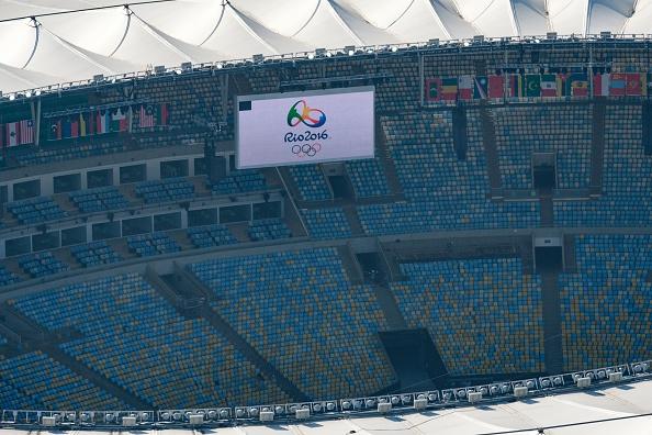 Estadio Maracaná, de Juegos Olímpicos Río 2016 en Río de Janeiro, Brasil, (crédito de foto debe leer YASUYOSHI CHIBA/AFP/Getty Images)
