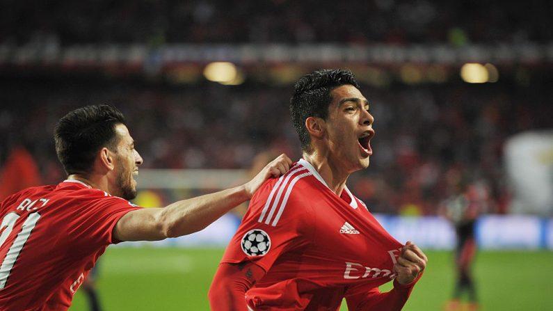 El futbolista mexicano Raúl Jiménez ya es parte del Benfica. (Octavio Passos/Getty Images)