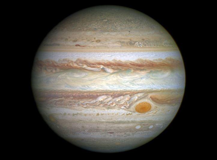 Júpiter desde el Telescopio Hubble de la NASA y laEstación Espacial Europea