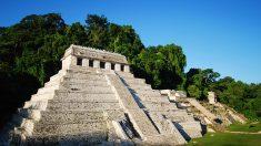 Descubren sistema de canales bajo el Templo de las Inscripciones en Palenque, México