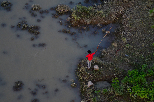 Río Ganges. Foto: NurPhoto / Getty Images