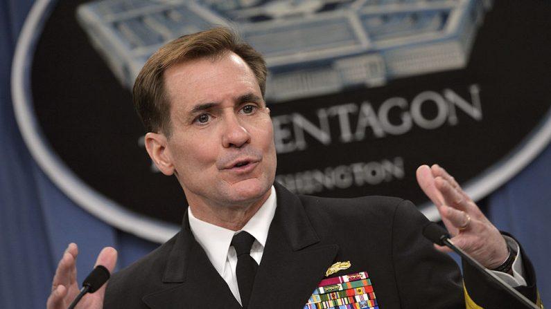 """En un comunicado, el Almirante John Kirby apuntó a que Washington consideró al reciente fallo como una """"contribución importante para la resolución pacífica de las disputas"""" y evitar provocaciones. Foto: Wikimedia Commons"""