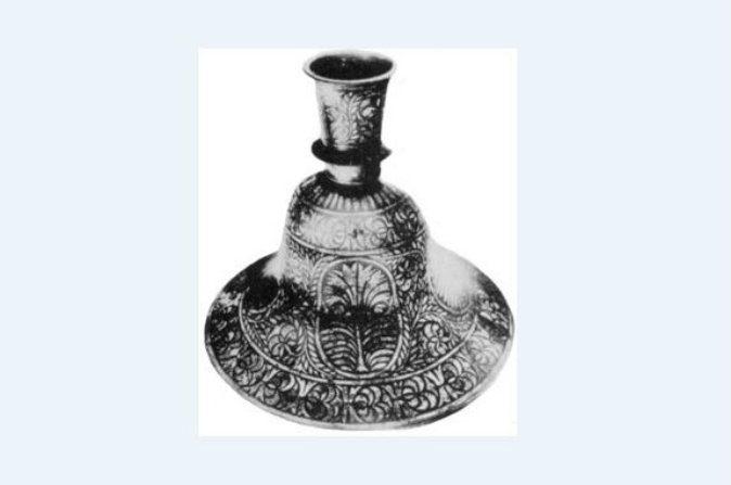 Objeto encontrado en Dorchester, Mass., en 1852. (Wikimedia Commons)