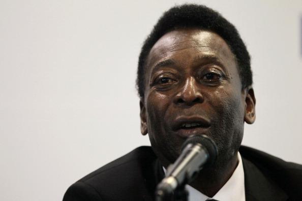Pelé. (Foto:  Chris McGrath/Getty Images)