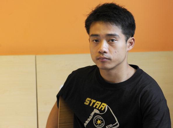 Zhang Shangwu es un consagrado gimnasta chino que terminó en la pobreza, teniendo que pedir limosna para sobrevivir. (STR/AFP/Getty Images)