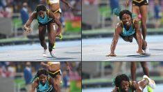 (Video) Shaunae Miller se lanzó a la meta para ganar medalla de oro en Río 2016