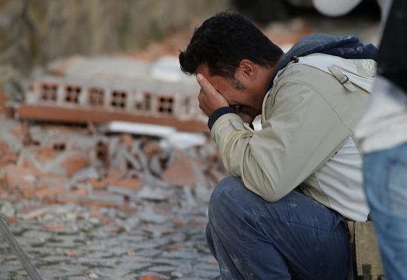 Terremoto de agosto de 2016 en Italia (Foto: FILIPPO MONTEFORTE/AFP/Getty Images)