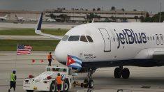 Nueva era en los viajes entre EEUU y Cuba: primer vuelo de JetBlue llegó a Cuba