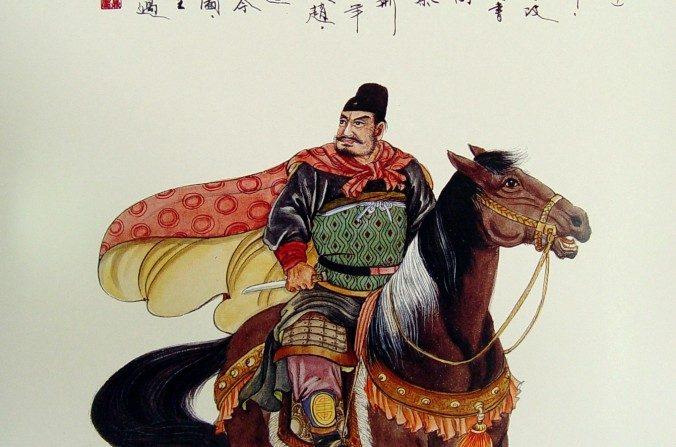 Jing Ke listo para asesinar al emperador de Qin .(Wang Shuang-K'uan /La Gran  Época)