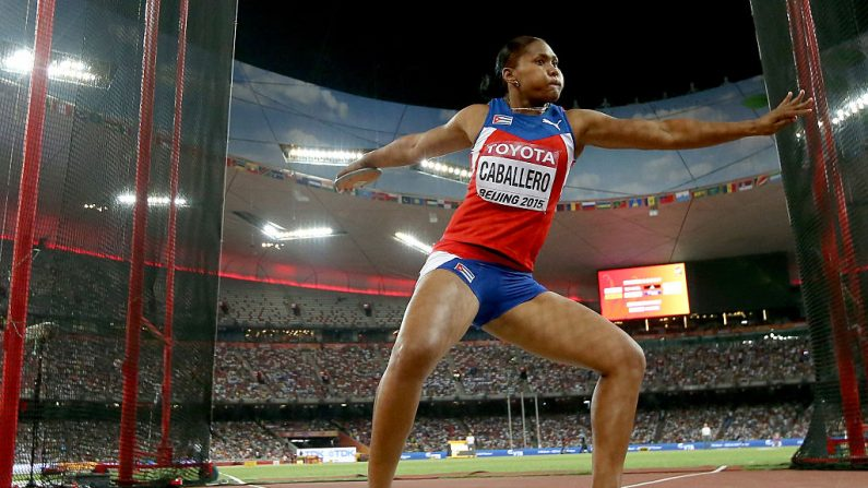 Denia Caballero de Cuba (Foto por Andy Lyons/Getty Images)