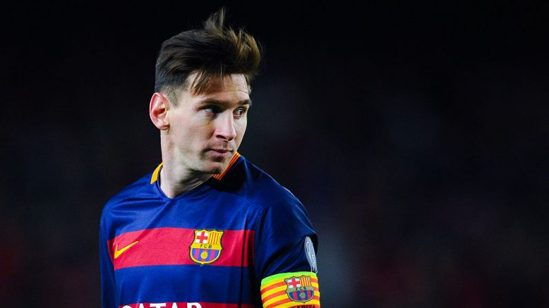 Lionel Messi del FC Barcelona. (Foto de David Ramos/Getty Images)