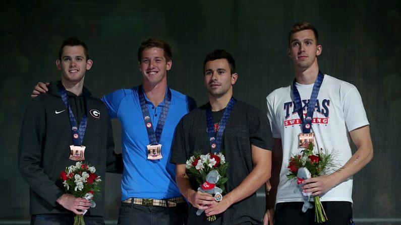 Cuatro nadadores de EEUU asaltados en Rio (Foto por Tom Pennington/Getty Images)