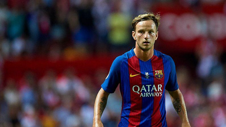 Ivan Rakitic del FC Barcelona. (Foto por Aitor Alcalde/Getty Images)