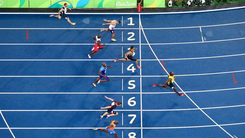 Usain Bolt de Jamaica. (Foto por Ian Walton/Getty Images)