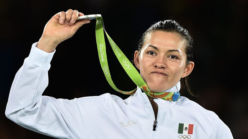 María del Rosario Espinoza de México (crédito de foto debe leer ED JONES/AFP/Getty Images)