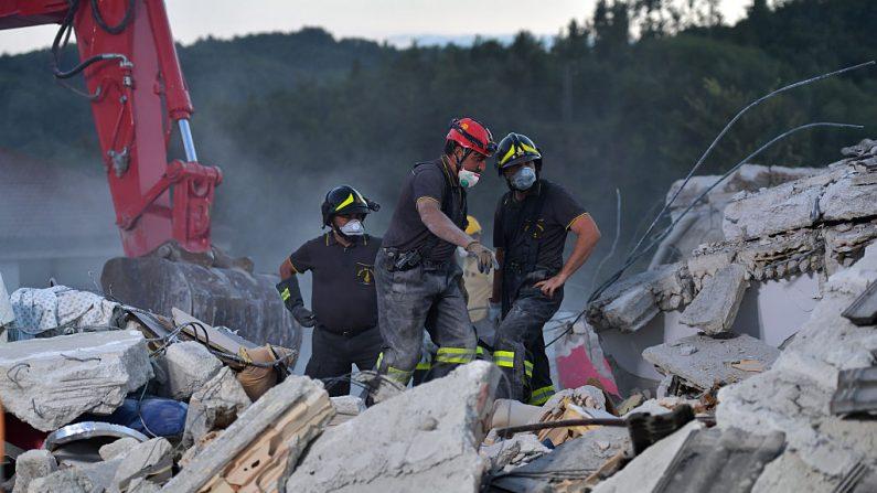 Foto ilustrativa, terremoto agosto 2016 Italia  (Foto: Carl Court/Getty Images)