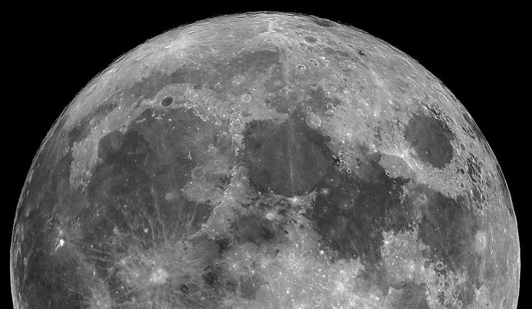 Luna Llena del 2008. (NASA)
