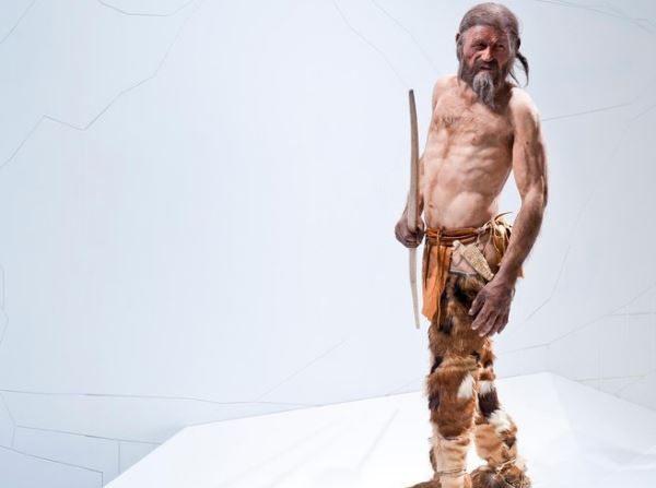 Otzi, el hombre de hielo que vivió en el Tirol hace 5.300 años. (Museo Alto Adige)
