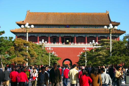 Plaza de Tiananmen, Pekín, China  (Getty images)