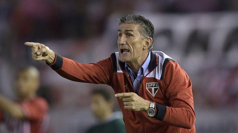 """El nuevo director técnico de la selección argentina Edgardo """"Patón"""" Bauza. Foto: Juan Mabromata/Getty Images"""
