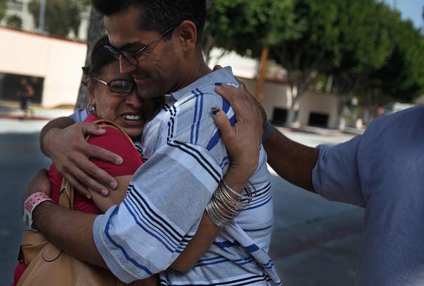 """Francisco """"Franky"""" Carrillo, cuando salió de la cárcel en 2011 luego de haber estado 20 años preso por un crimen que no cometió. Foto: Michael Robinson Chavez/Getty Images"""
